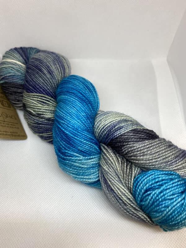 HMHT Squishy Cloudy Blues Sock 1