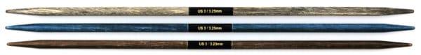 "Indigo DPN US 3 3.25mm 6"" 1"