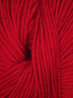 Ella Rae Cozy Soft Bright Red 1