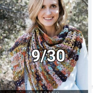 Crochet Shawl Class 9/30 2