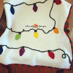 Crochet Christmas Lights Blanket Class 10/24