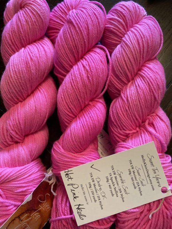 Darling DK Hot Pink Heels 1