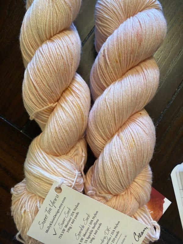 Sweet Sock Peaches & Cream 1