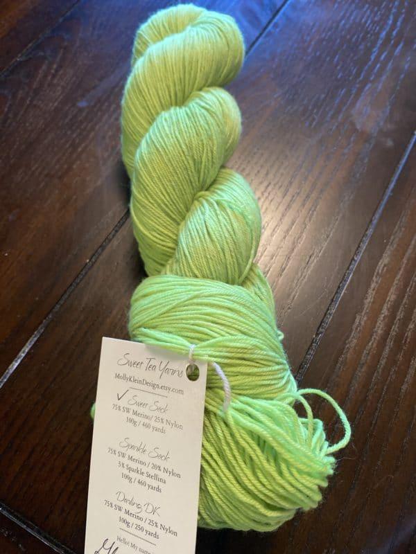 Sweet Sock Glow Worm 1