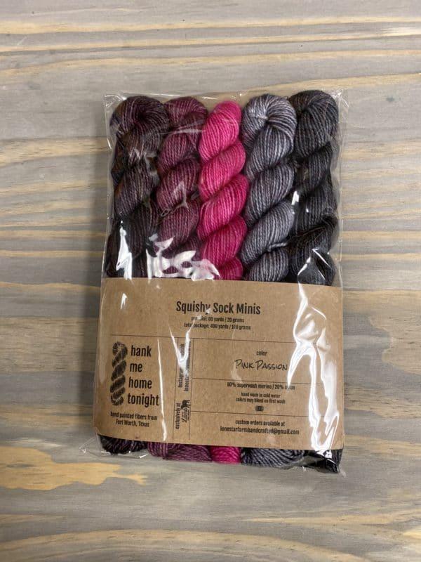 HMHT2 Mini Sock Set Pink Passion 1