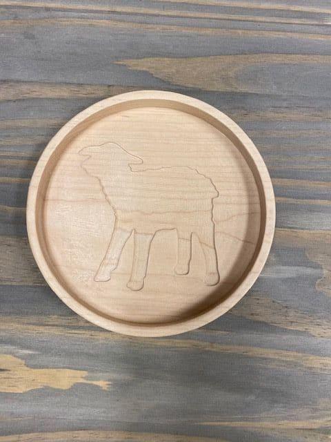 Wood Notions Holder Lamb 1