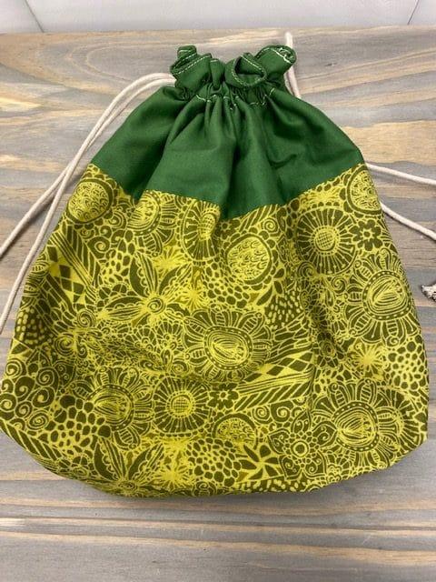Mimi Pat Medium Green Bag 1