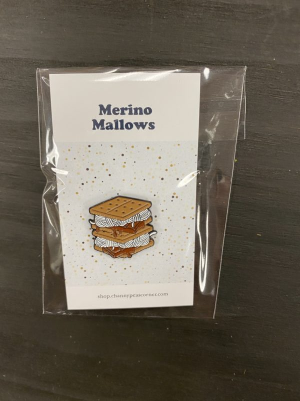 Merino Mallows Enamel Pin 1