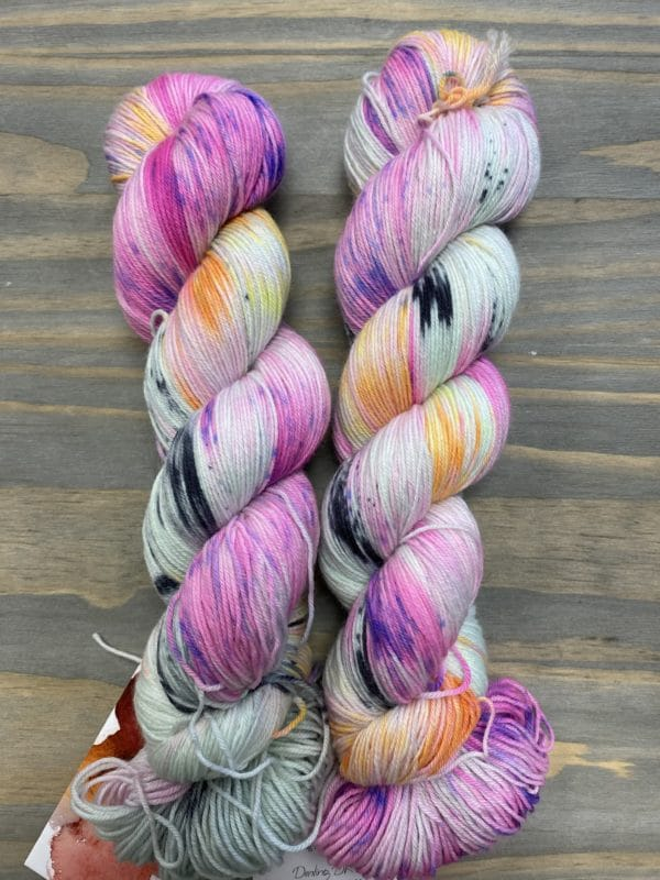 Sweet Sock Super Speckled Minty Ghosty 1