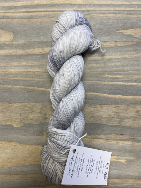 Sweet Sock OOAK Grey 1