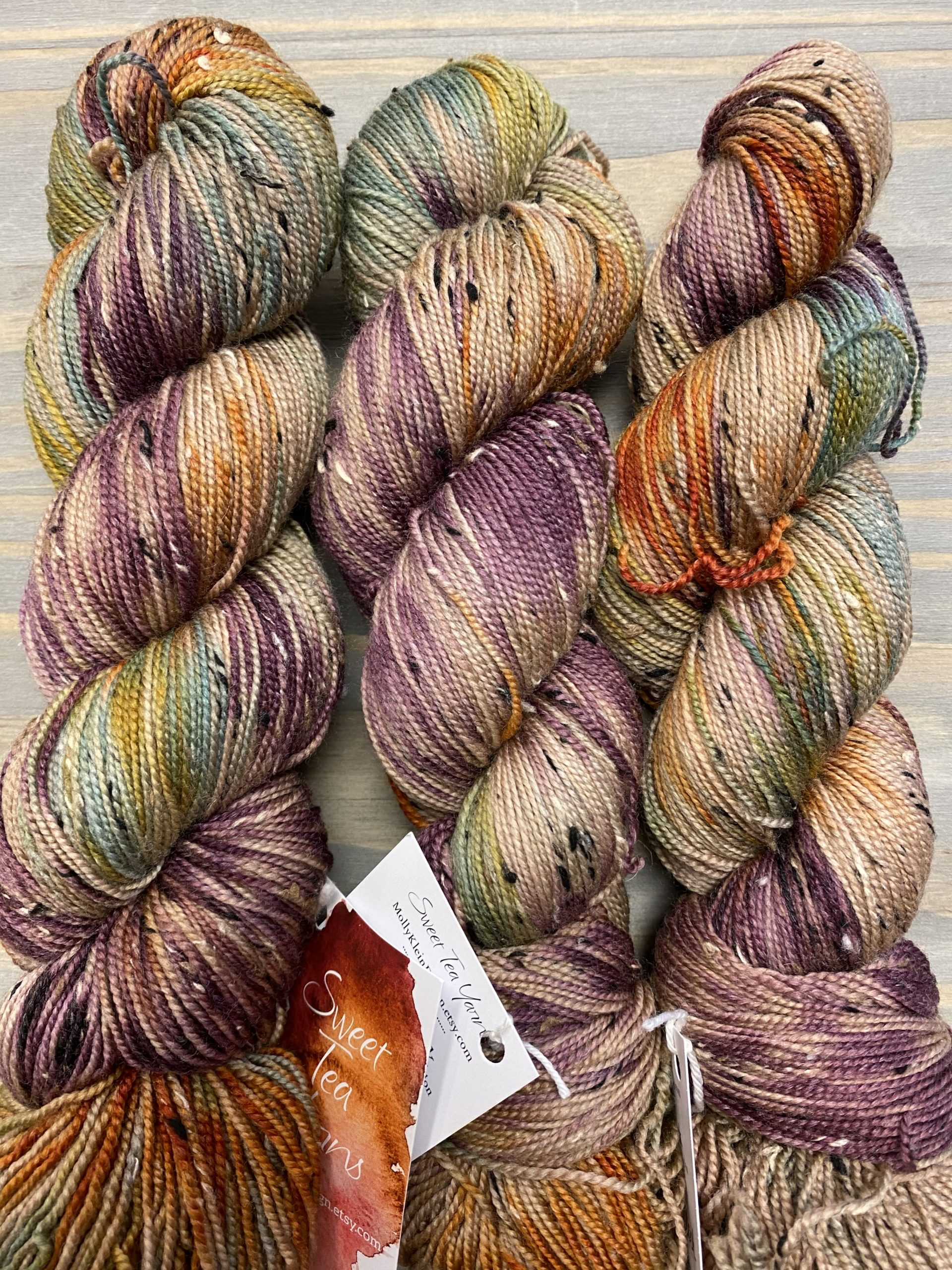 Tweed Sock Autumn Woods 1