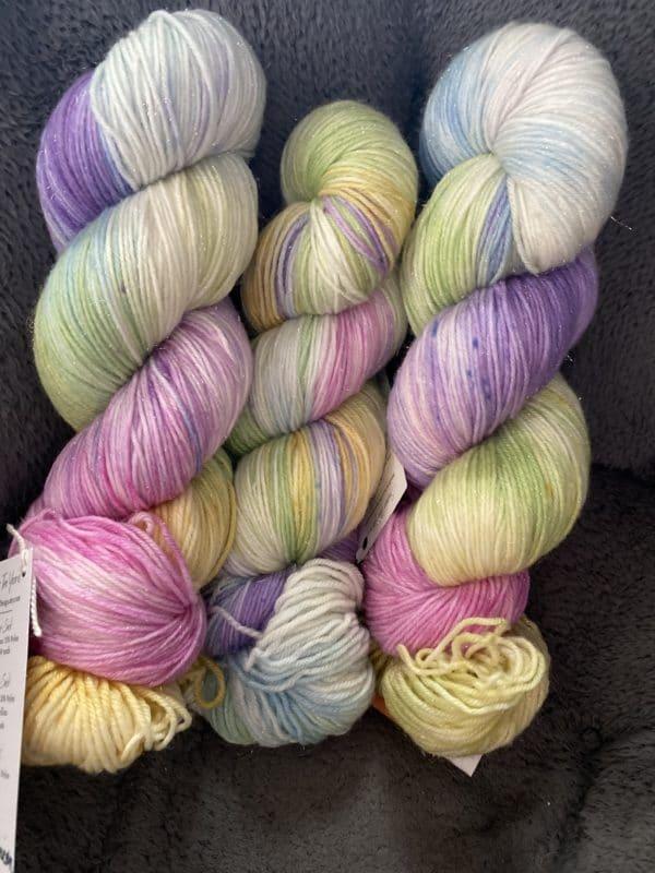 Sparkle Sock Pastel Rainbow Unicorn 1