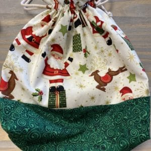 Santa Claus Project Bag