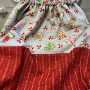 Gingerbread Drawstring Bag