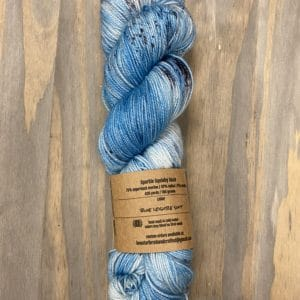 Blue Leisure Suit Sparkle Sock