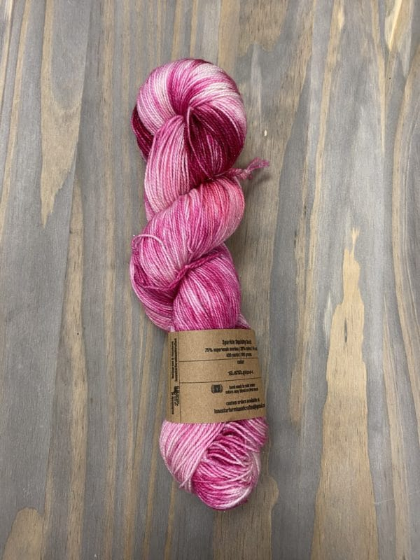 HMHT Bubblegum Sparkle Sock 1