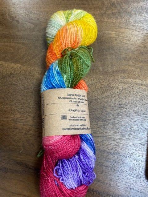 Rainbow Dash Sparkle Sock 1