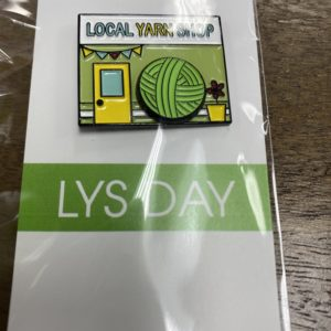 Local Yarn Shop Pin