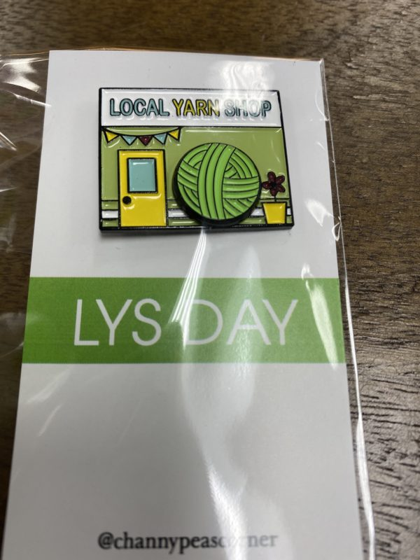 Local Yarn Shop Pin 1