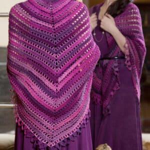 Triangle Shawl Crochet Class