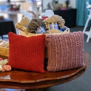 Crochet Pillow Class 10/02 10