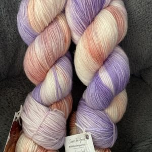 Sparkle Sock Lavender Peach