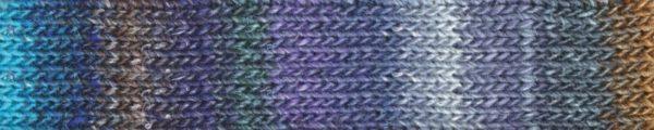 Noro Silk Garden Sock Abiko 1