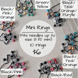 Stitch Marker Black/Pink