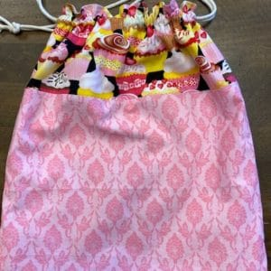 Mimi Pat Project Bag Cupcakes