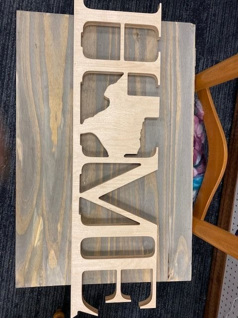 HMHT Texas Wood Sign Natural 1