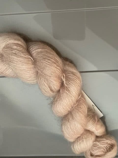 Marshmallow Mohair Icy Mauve 1