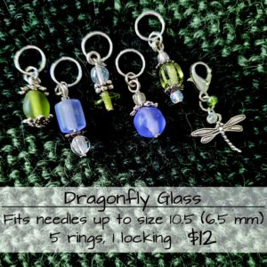Dragonfly Stitch Markers