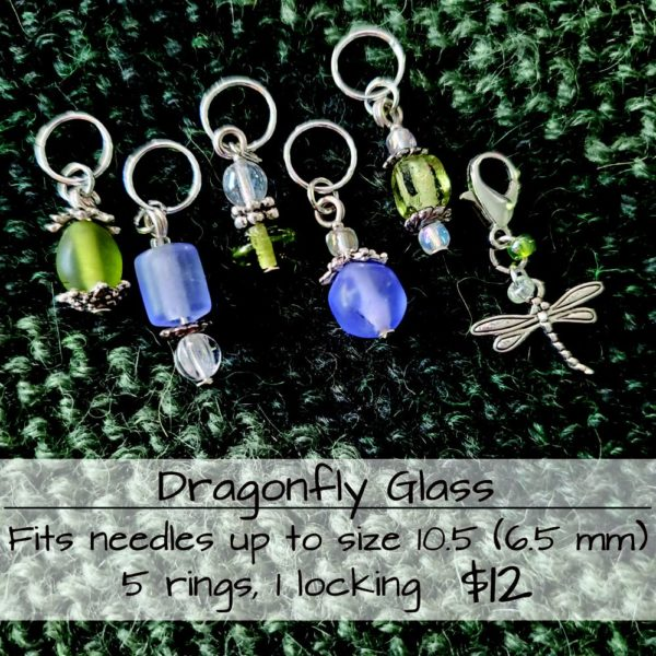 Dragonfly Stitch Markers 1
