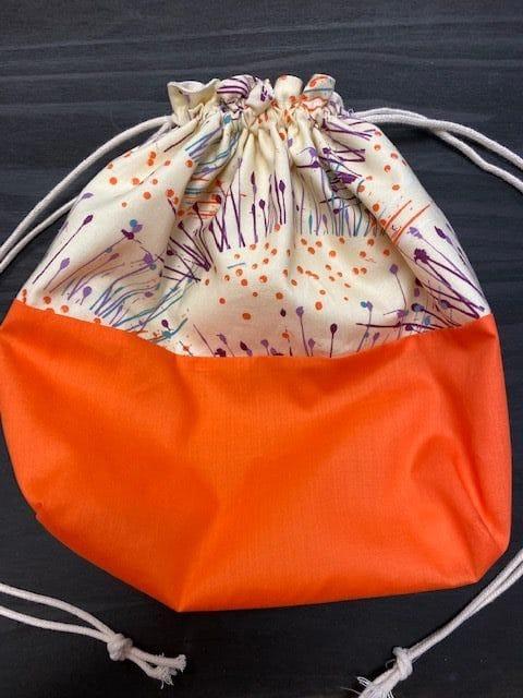 Mimi Pat Orange bag 1