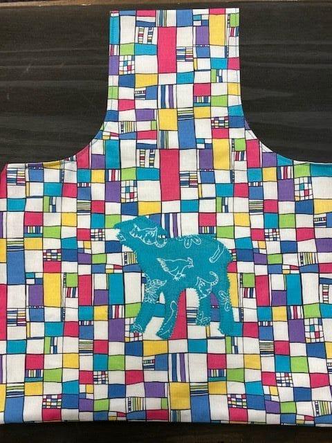 Mimi Pat Multi Color Lamb Bag 1