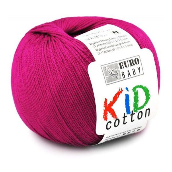 Kid Cotton 09 Hot Pop Pink 1