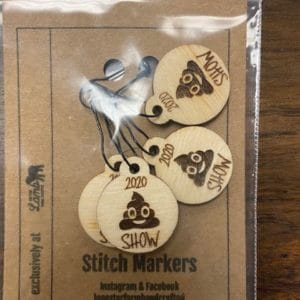 Sh*t Show 2020 Stitch Markers