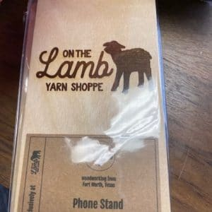 Phone Holder On The Lamb