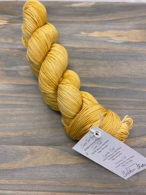 Sweet Sock Golden Straw 1