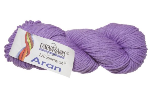 220 Superwash Aran Pale Violet 1
