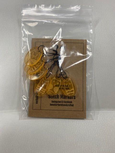 Cat Stitch Marker Gold 1