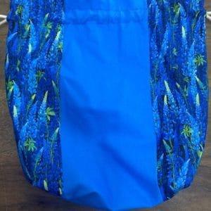 Blue/Bluebonnet Project Bag