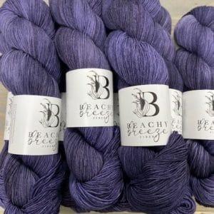 Purple Twilight Boardwalk Sock
