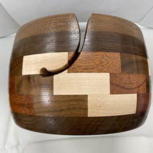 Yarn Bowl Maple, Walnut, Mahogany