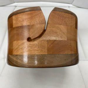 Yarn Bowl Large Cherry Walnut