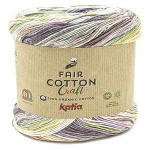 Fair Cotton Pink, Purple, Aqua