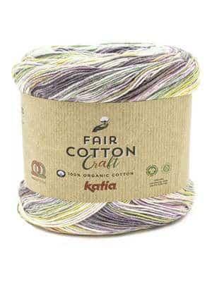Fair Cotton Pink, Purple, Aqua 1