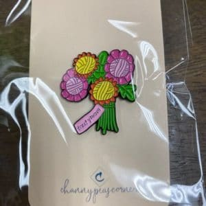 Yarn Bouquet Enamel Pin