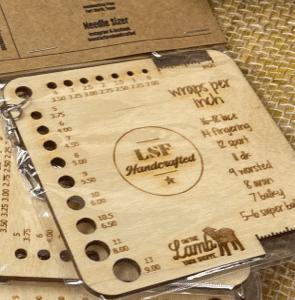 Needle Sizers wood
