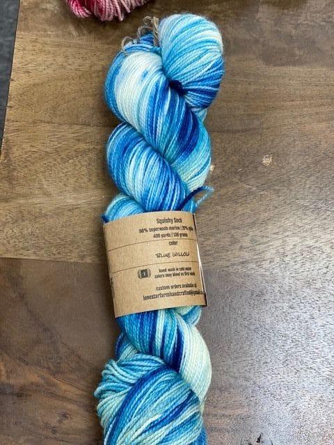 Blue Willow Sock 1